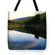 The Serenity Of The Moyie  Tote Bag