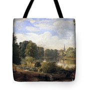 The Serpentine Tote Bag by Jasper Francis Cropsey