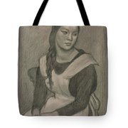 The Servant Girl Painting Tote Bag