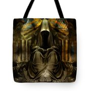 The Seven Monks Of  Tarthyohr  Tote Bag