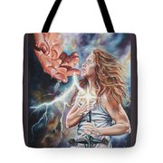 The Seven Spirits Series - The Spirit Of Might Tote Bag