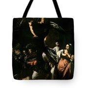 The Seven Works Of Mercy Tote Bag