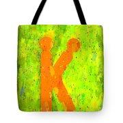 The Sexy K  - Orange -  - Pa Tote Bag