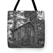 The Shack In Black And White Tote Bag