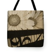 The Shadow Flowers Tote Bag