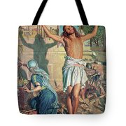 The Shadow Of Death Tote Bag by William Holman Hunt