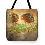 The Shadow Of Olives Tote Bag