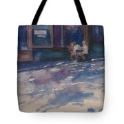 The Shady Side Of The Street Tote Bag