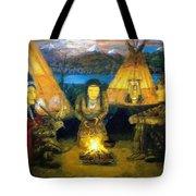 The Shamans Council Tote Bag