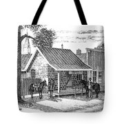 The Sheriff And His Deputy  Tote Bag