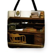The Sheriff Is Out Tote Bag
