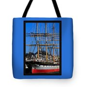 The Ship Balclutha Tote Bag