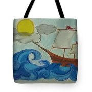 The Ship Tote Bag