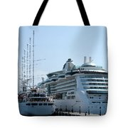 The Ships Are In Tote Bag