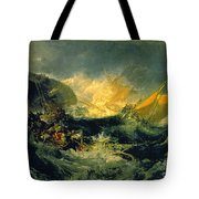 The Shipwreck Of The Minotaur Tote Bag