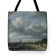 The Shore At Egmond Aan Zee Tote Bag