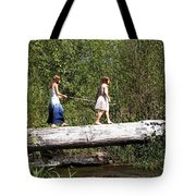 The Short Cut Tote Bag
