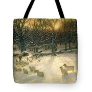 The Shortening Winters Day Is Near A Close Tote Bag
