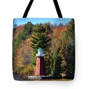 The Shoul Point Lighthouse Tote Bag