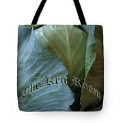 The Shy Cabbage The Keg Room Old English Hunter Green Tote Bag