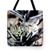 The Shy Desert Lily Tote Bag