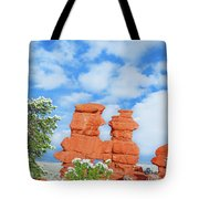 The Siamese Twins Joined At The Chest   Tote Bag