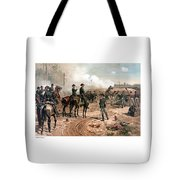 The Siege Of Atlanta Tote Bag by War Is Hell Store