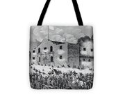 The Siege Of The Alamo Tote Bag
