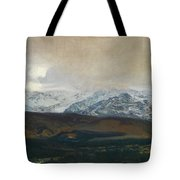 The Sierra De Guadarrama Tote Bag