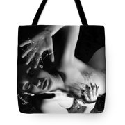 The Silent Cry - Self Portrait Tote Bag