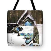 The Silent Nomad Tote Bag