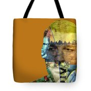 The Silent Type Tote Bag