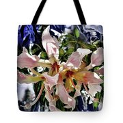 The Silk Flowers Tote Bag