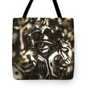 The Silver Strawman Tote Bag