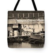 The Simple Life In Living Sepia Tote Bag