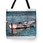 The Simple Life Mykonos Tote Bag