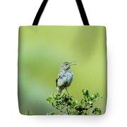The Singing Birdie  Tote Bag