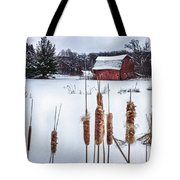 The Sinking Barn Tote Bag