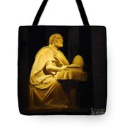 The Sinner Who Became A Saint Tote Bag