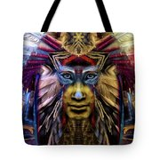The Sioux Spirit - The Plumed Lion Tote Bag