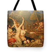 The Sirens And Ulysses Tote Bag