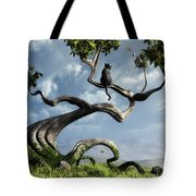 The Sitting Tree Tote Bag