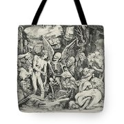 The Skeletons Tote Bag