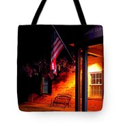 The Skies Are Dark Tote Bag