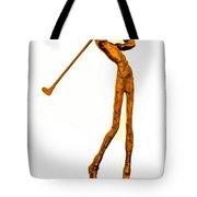The Skinny Golfer Tote Bag