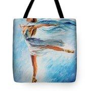 The Sky Dance Tote Bag