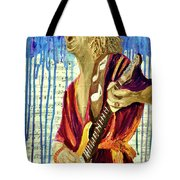 The Sky Is Crying Tote Bag