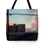 The Sky Over My Apartment Tote Bag