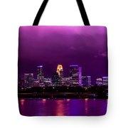 The Sky Was So Purple...  Tote Bag