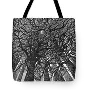 The Skyscrapers Of The Forest Tote Bag